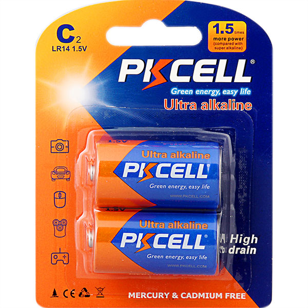Ultra Digital Alkaline LR14 C Battery